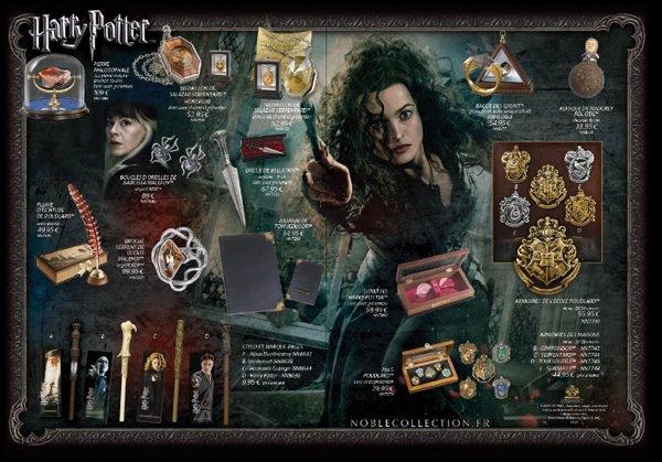 Nouveautés Harry Potter!!!!! Noble Collection