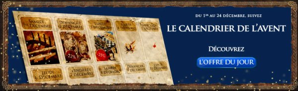 Calendrier de l'avant Noble Collection