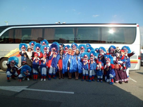 photo de groupe de carnaval de mulhouse
