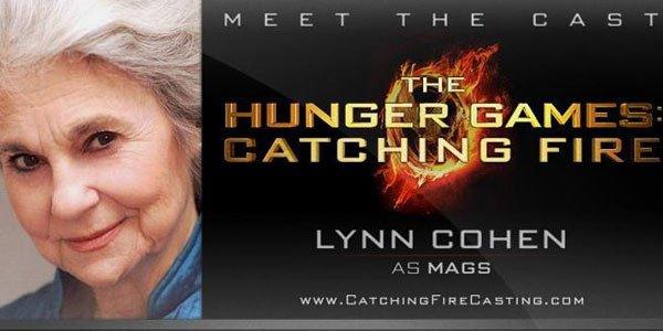 Lynn Cohen pour le rôle de Mags!