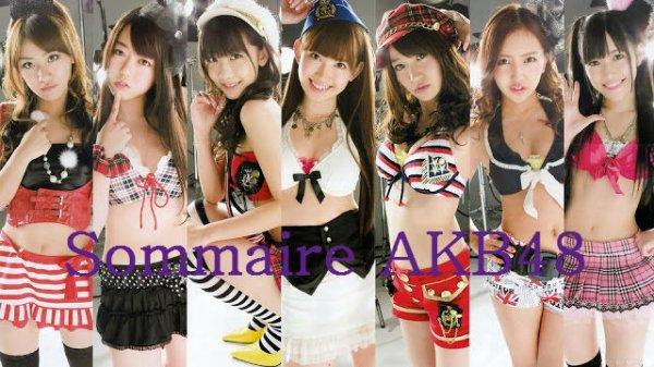 Sommaire AKB48 ~