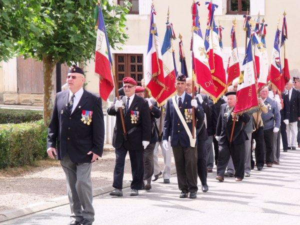 Cérémonie du 8 juin 2011 à Alloue