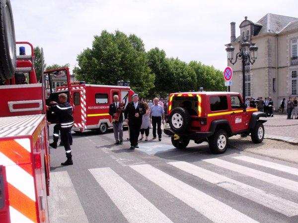 cérémonie du 14 juillet 2011 à la teste de buch 2eme partie