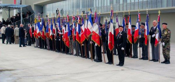 Cérémonie Militaire en l'honneur des troupes engagées en Afghanistan à la BA120 de CAZAUX