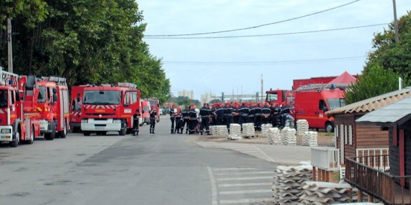 Défilé des Sapeurs pompiers du Bassin d'Arcachon zone sud et Cérémonie du 14 juillet 2009 à la Teste de Buch (2eme partie)