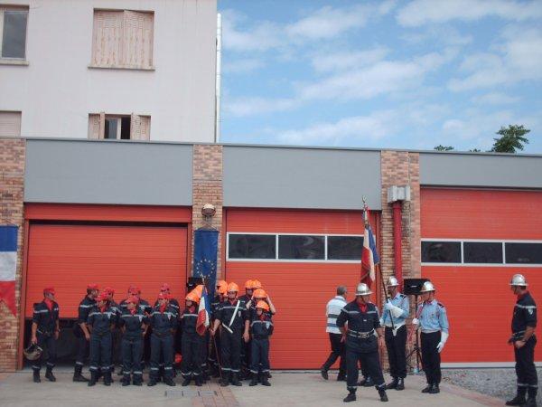 Défilé des Sapeurs pompiers du Bassin d'Arcachon zone sud et Cérémonie du 14 juillet 2009 à la Teste de Buch (6 eme partie)