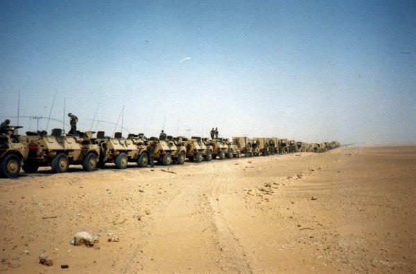 Guerre du Golfe ,la Division Daguet 1990/1991