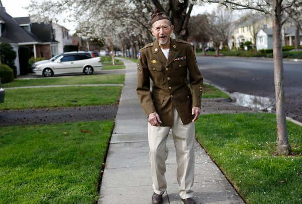 Joe BELL vétéran seconde guerre mondiale