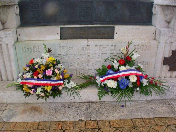 Journée Nationale du Souvenir Des Victimes et des Héros de la Déportation Gujan Mestras (5 eme partie et fin)