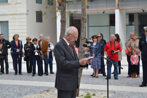 cérémonie du 8 mai 2014 la Teste de Buch (1er partie)