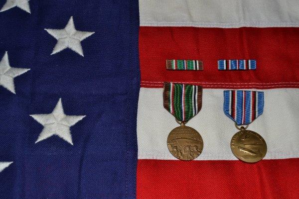 Médailles commémoratives américaines 1941/1945