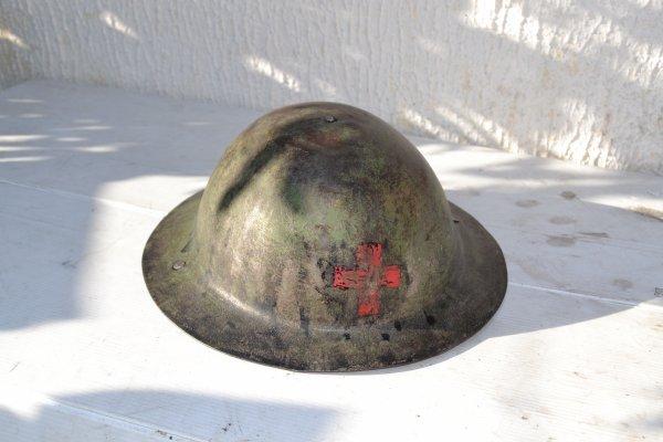 casque anglais 1er guerre mondiale ???