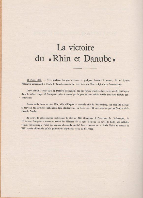 """Document """"RHIN et DANUBE"""" suite ..."""