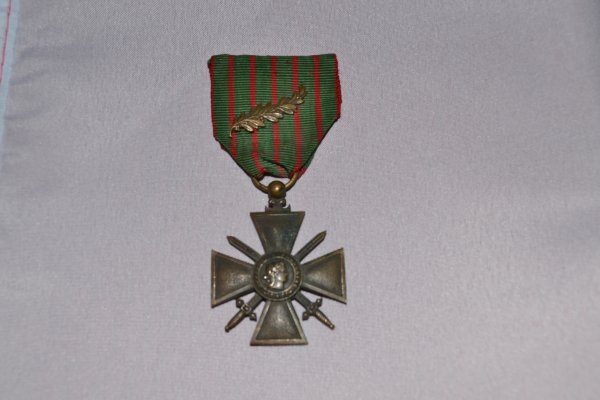 croix de guerre 1914/1916 avec palme