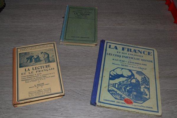 livres d'école durant la seconde guerre mondiale