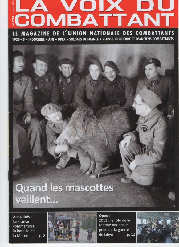 article LA VOIX DU COMBATTANT Obsèques de Pierre BAYLE