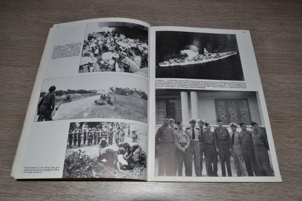 revue magazine 39/45 sur l'Indochine  La reconquête (suite)
