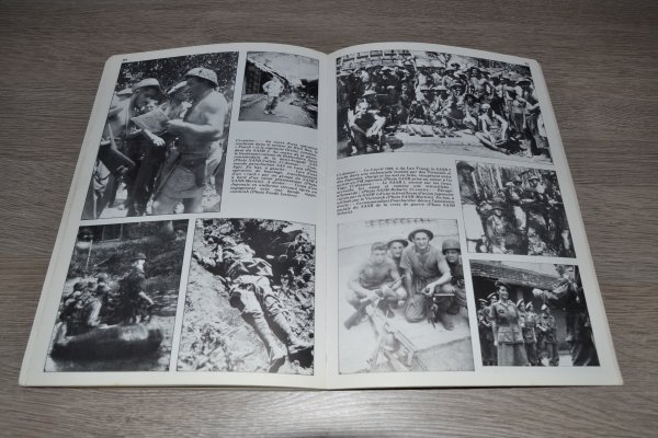revue magazine 39/45 sur l'Indochine  La reconquête (suite .....et fin..)