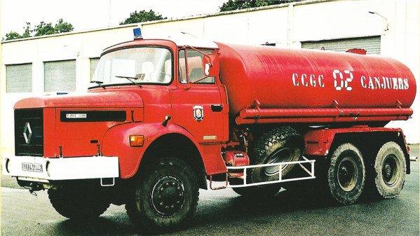 camion citerne de grande capacité sur Renault Type GBH 280 6x6