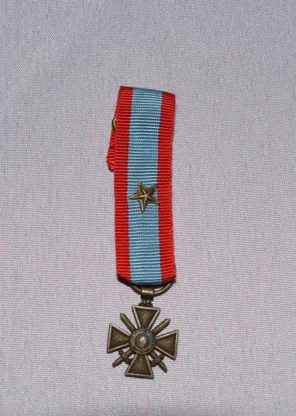 Croix de guerre des théâtres d'opérations extérieures (TOE)