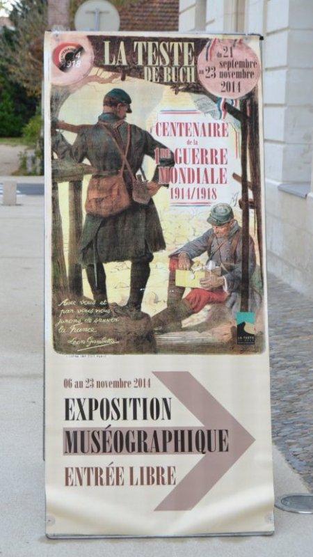 Exposition Muséographique La Teste de Buch jusqu'au 23 Novembre 2014