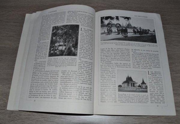 """""""l'encyclopédie par l'image l'Indochine"""" de la librairie HACHETTE"""