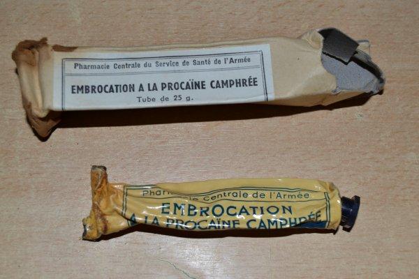 TROUSSE DE SECOURS PARA COMMANDO Modèle II/48 datée de 1953. GUERRE D´INDOCHINE