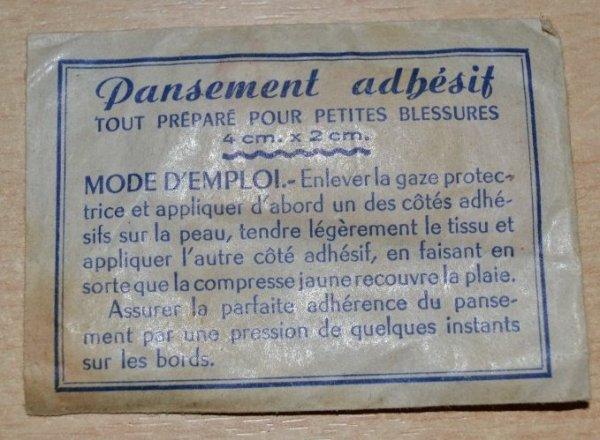 TROUSSE DE SECOURS PARA COMMANDO Modèle II/48 datée de 1953. GUERRE D´INDOCHINE (2eme partie)