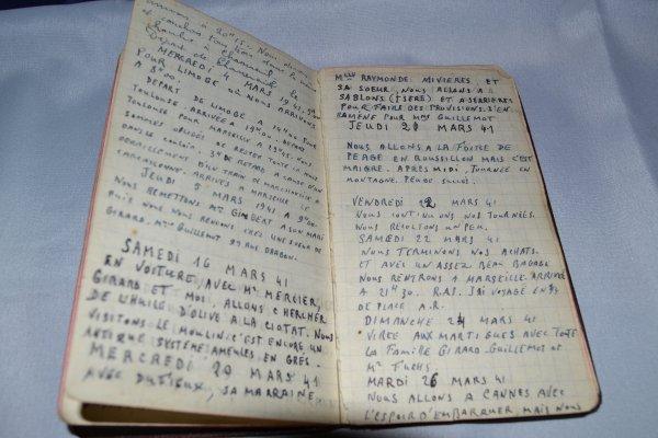 Carnet personnel d'un Ancien de 1939 à 1945