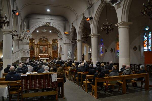 Obsèques d'Etienne Sérié