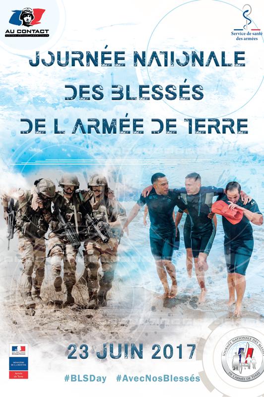 La Journée nationale des blessés de l'armée de Terre