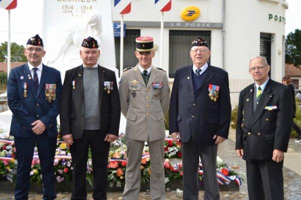 Commémoration armistice du 11 novembre la teste de buch