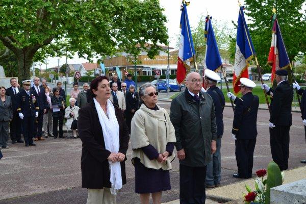 Journée Nationale du Souvenir Des Victimes et des Héros de la Déportation à Gujan-Mestras et la Teste de Buch