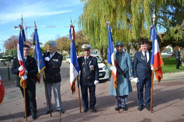 Cérémonie du Centenaire de l'armistice du 11 novembre 1918 à GUJAN-MESTRAS