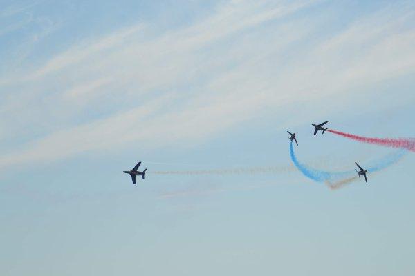 meeting aérien avec la Patrouille de France