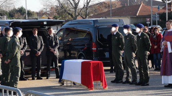 Obsèques du Lieutenant Alex Morisse