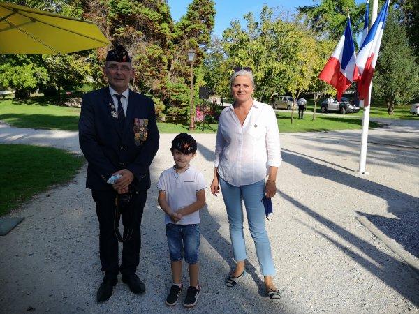 76eme anniversaire de la libération d'Arcachon
