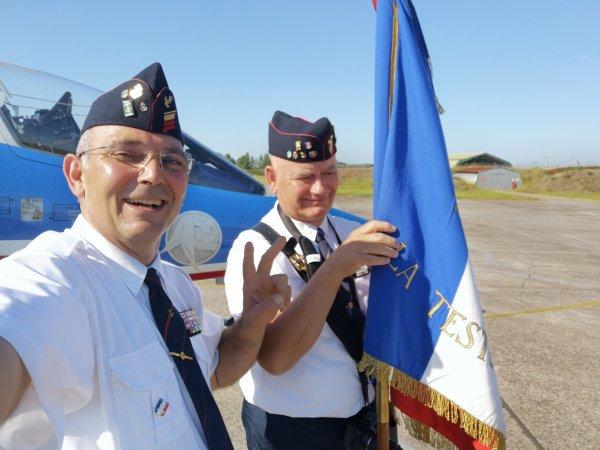 Passation de commandement de la BA120 de Cazaux