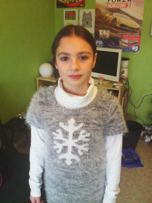 ma fille a Noël je t <3