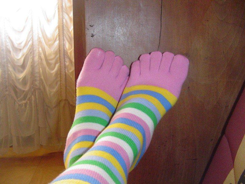 Récupération d'anciennes chaussettes =)