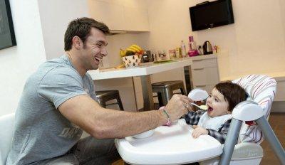 Vincent Clerc et sa fille!!