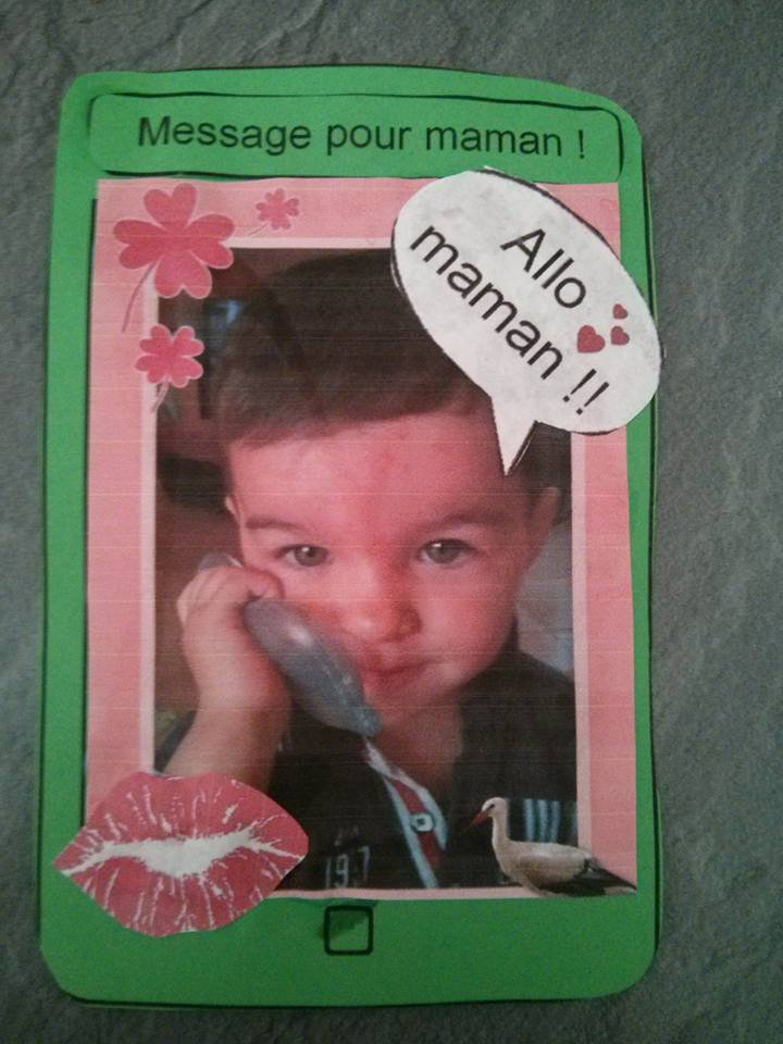 "Iphone....."" Maman qui déchire..."" Tayron 20 mois, puis cadre photos"