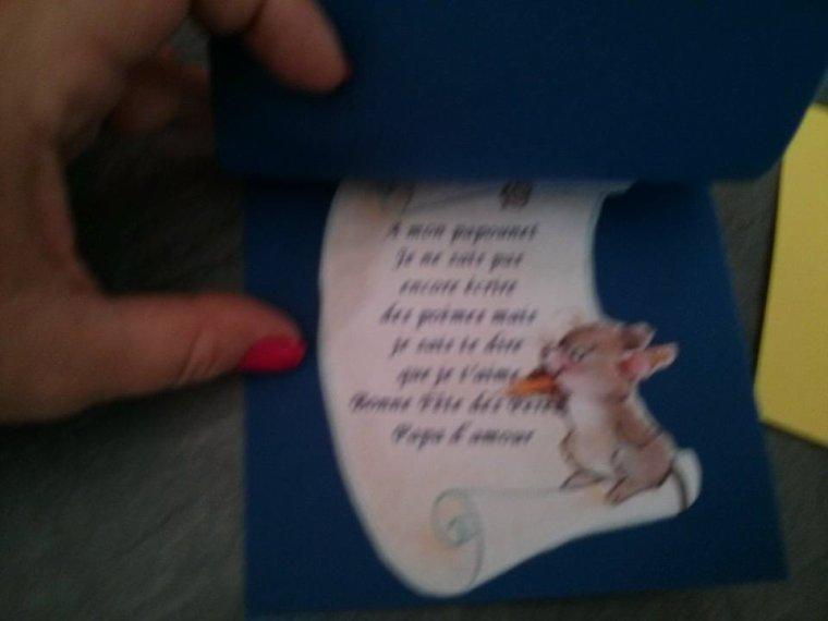 Petites cartes chemise en papiers par les loulous