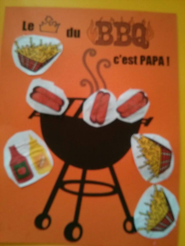 . Le roi du BBQ c'est PAPA !! ..Soanne