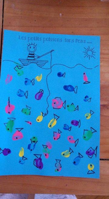 Les petits poissons dans l'eau ..