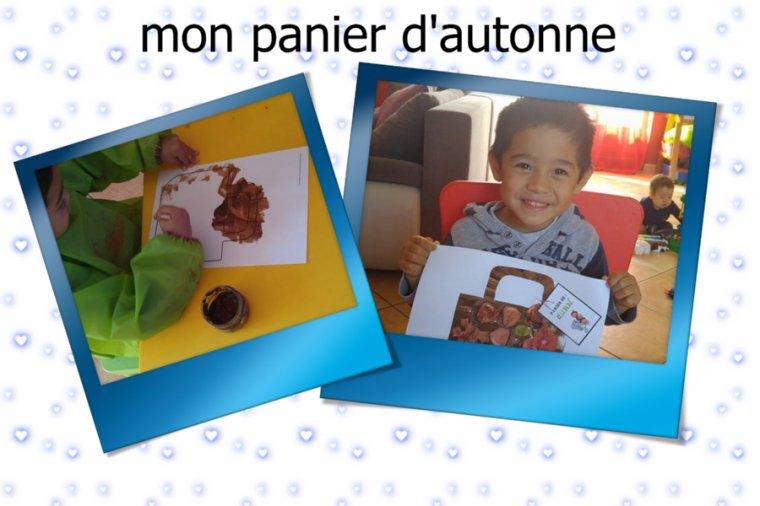 Panier d'automne ..d'Euan et Antoine