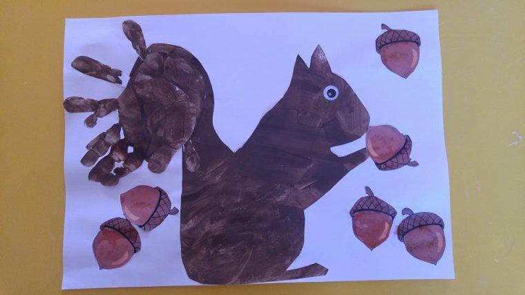 l'écureuil .. d'Antoine & d'Euan