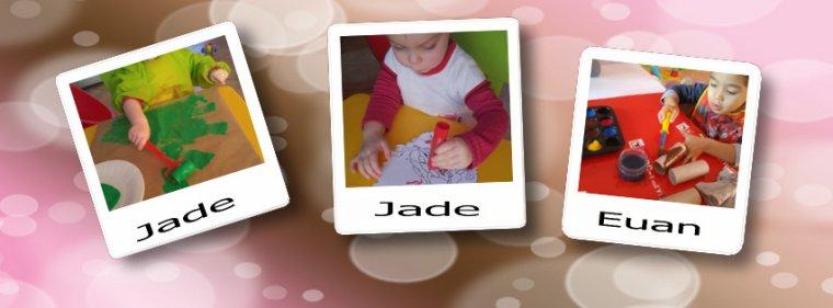 les calendriers de l'avent de Jade, Euan et Lana
