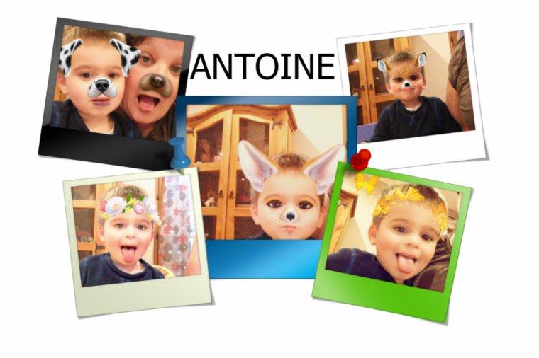 Fin d'accueil pour mon petit Antoine