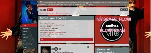 BLOG NON-OFFICIEL ! Myspace Florent Mothe
